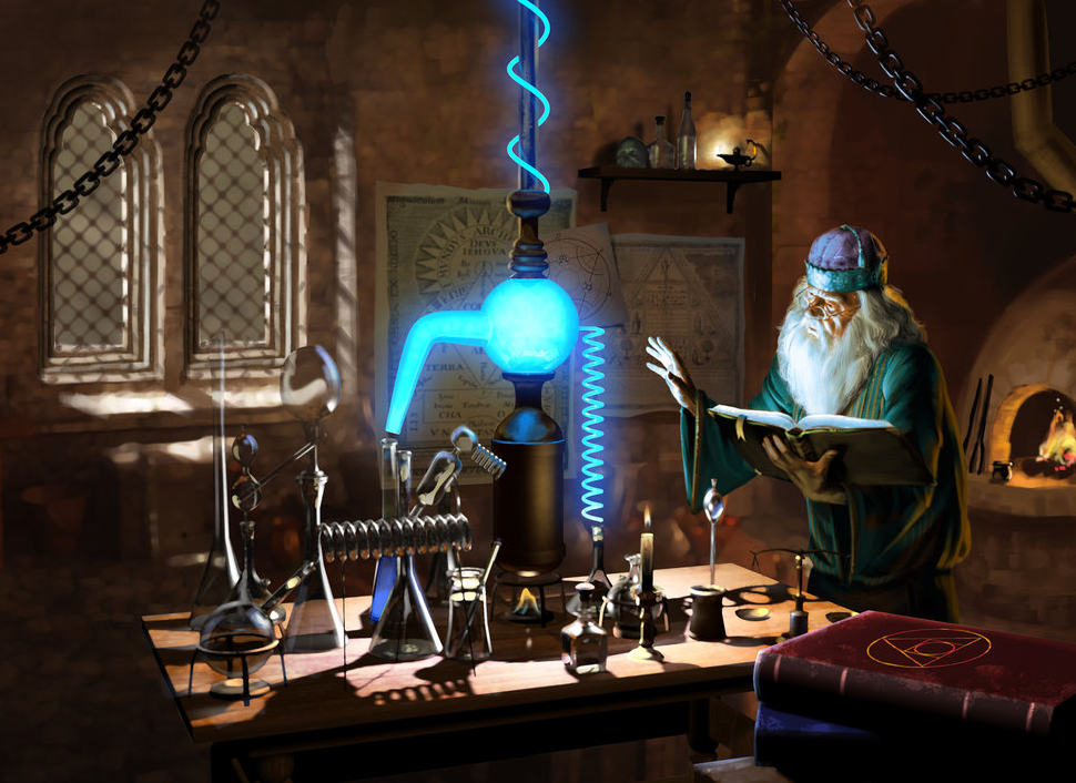 In my imagination, Chemistry was the grandchild of good old alchemy…